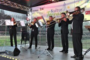 Konzert auf der Kulturterasse am Schloss Raesfeld